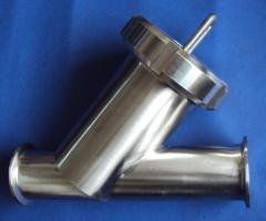 FILTRO EN Y CLAMP Acero Inoxidable AISI B2.1- 304 316