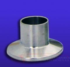 Ferula BPE 20RA Clamp acero inoxidable Larga inox 316L union tuberia codo
