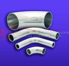 Codo Sanitario Acero inoxidable AISI 304 316L tuberia ferula tee union
